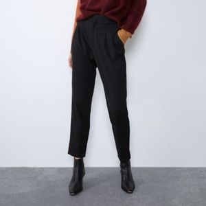 HIGH WAISTED MENSWEAR PANTS